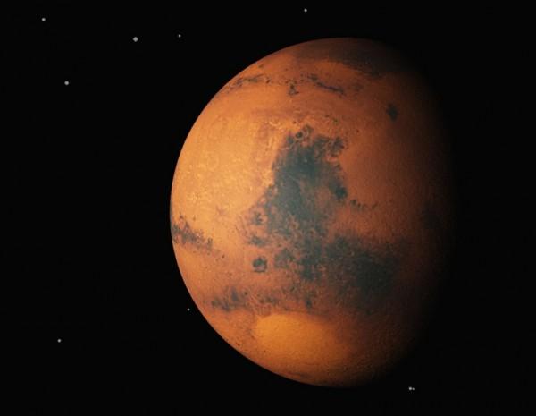 A render of Mars made using Vue 7.5 Infinite