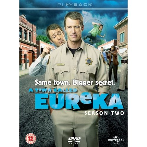 A Town Called Eureka Season 2 DVD Box Cover