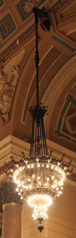Chandelier: St Georges Hall, Liverpool