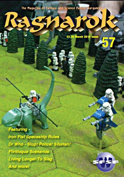 SFSFW's Ragnarok Issue 57 Cover