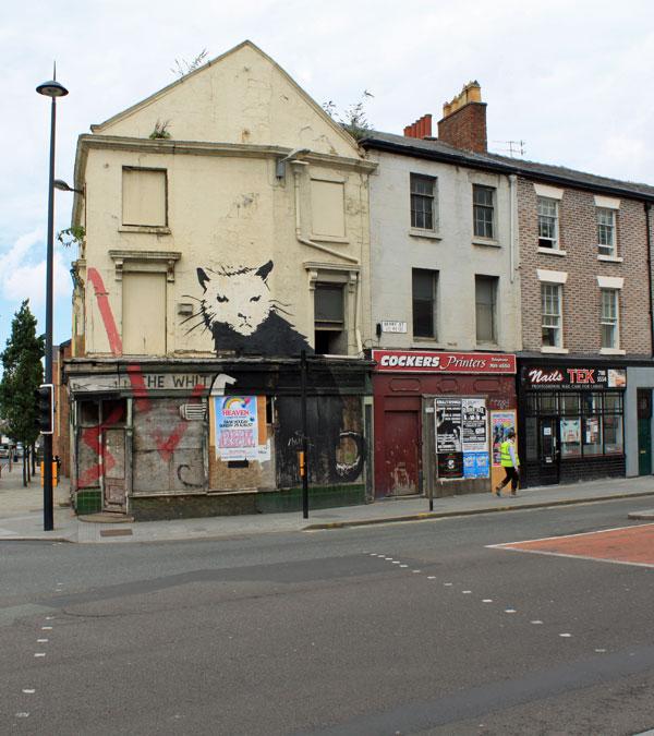 Banksy Rat Liverpool