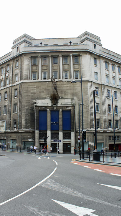 Lewis Building, Main Entrance, Liverpool