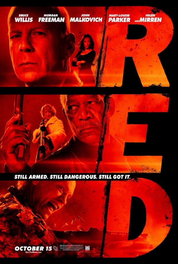 RED - Retired Extremely Dangerous Poster