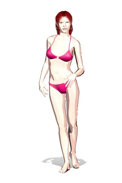 Victoria 4 SkinVue Toon Render