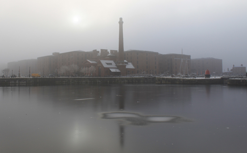 Albert Dock in Fog
