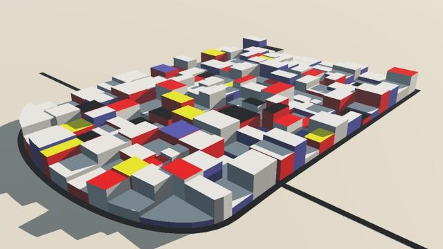 CityEngine Colour Combinations