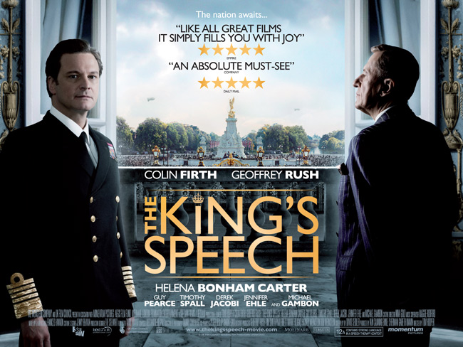 The King's Speech Film Poster