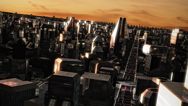 CityEngine SpaceCity