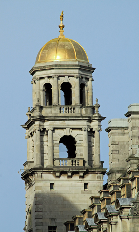 Gold Dome on Royal Insurance Building, Liverpool