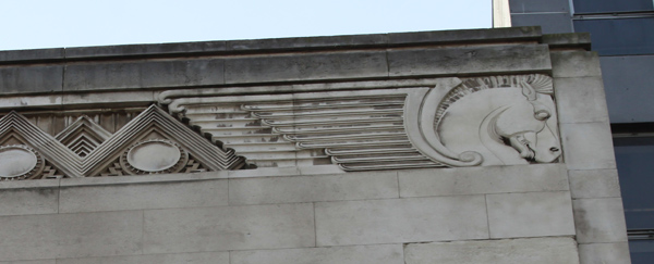 North John Street Ventilation Station Horse Head Detail