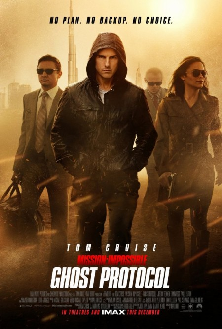 Mission Impossible: Ghost Protocol movie poster