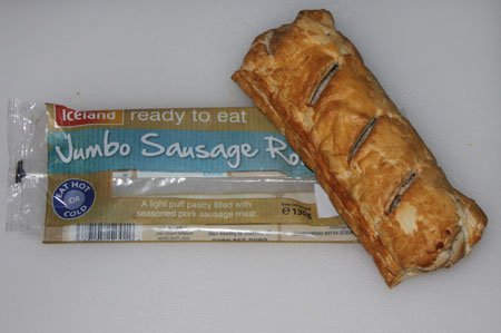 Iceland Sausage Roll