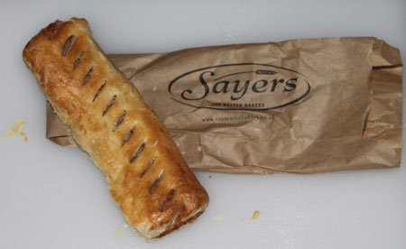 Sayers Sausage Roll