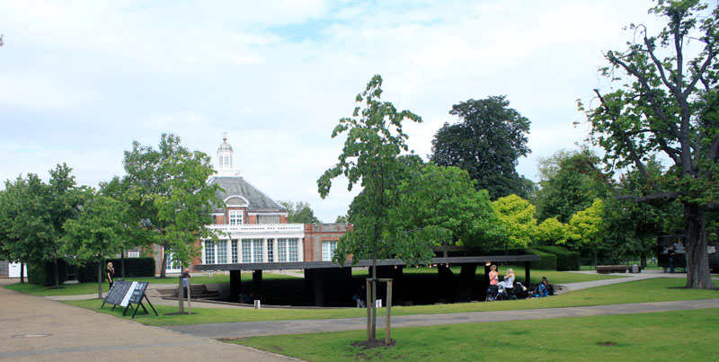 Serpentine Pavilion 2012 from front left