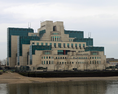 SIS / MI6 Building, Vauxhall, London