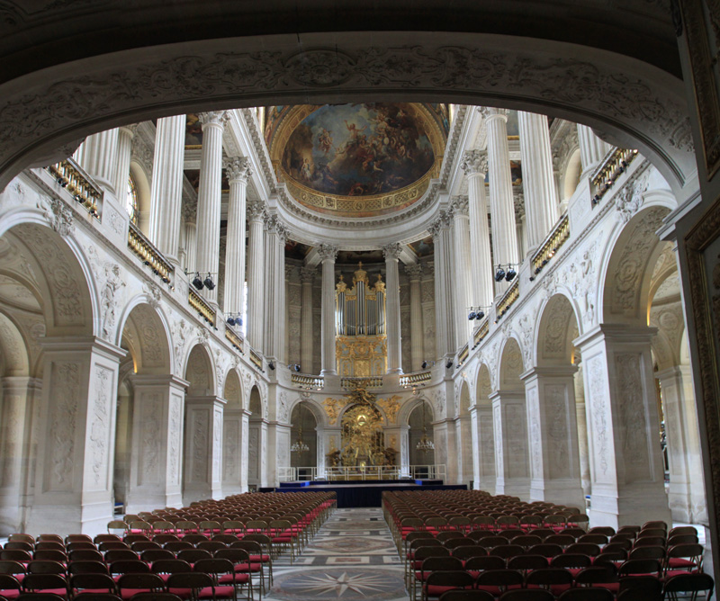 The Royal Chapel of Versailles 2