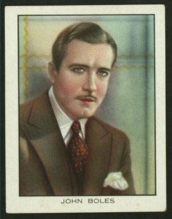 The Actor John Boles