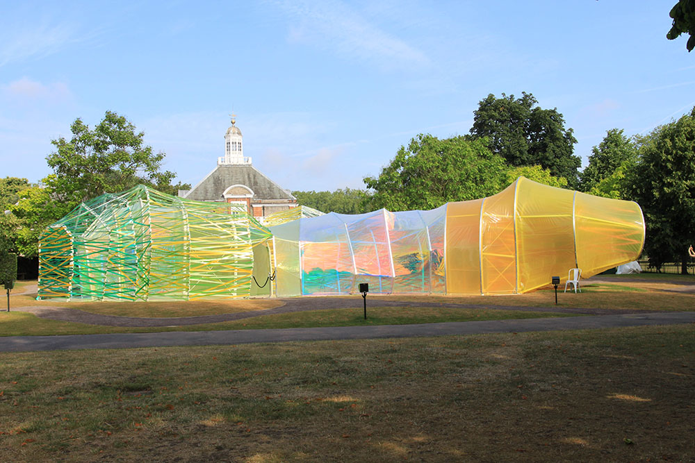 Serpentine Gallery Pavilion 2015 Elevation 1