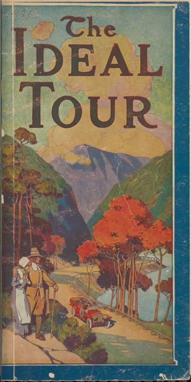 The Ideal Tour 1920 New England Road Trip cover