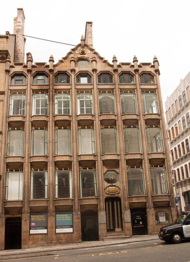 Oriel Chambers, Liverpool