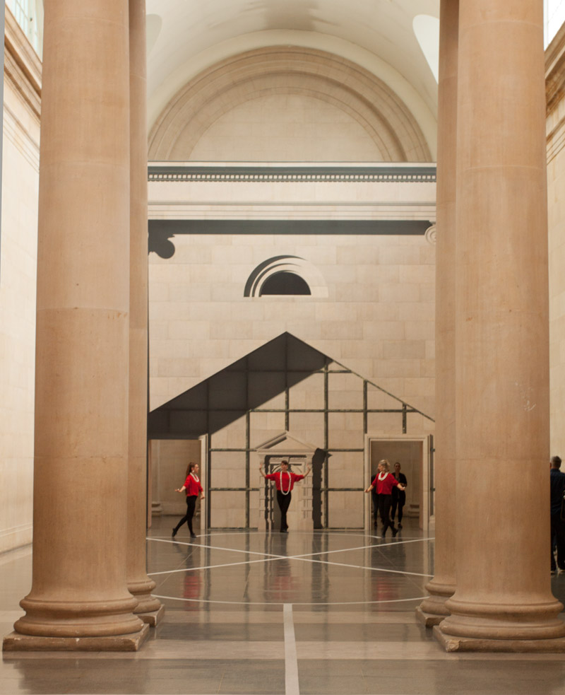 Tate Britain - Pablo Bronstein: Historical Dances in an Antique Setting