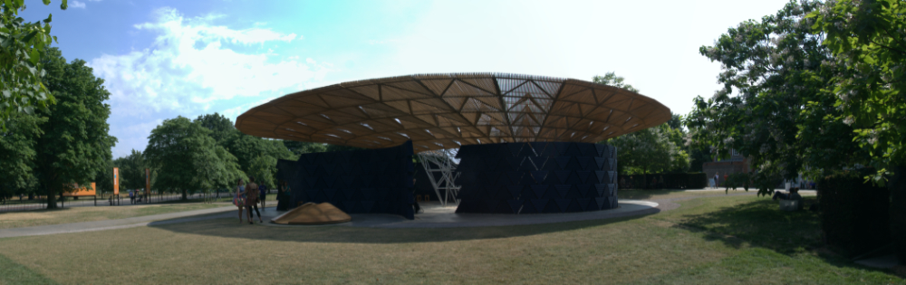 Serpentine Pavilion 2017 from the North
