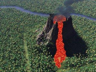 Vue 6 Volcano Render