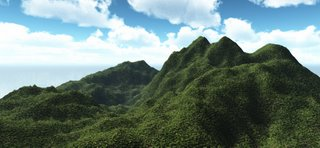 Ardent Veridian - A tropical scene rendered in Vue 6 Infinite